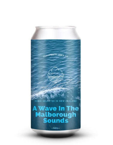 Cloudwater - A Wave In The Marlborough Sounds