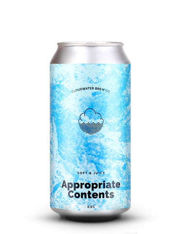 Cloudwater - Appropriate Contents
