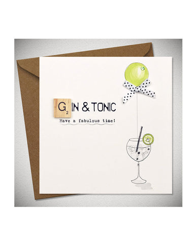 Birthday Card - Gin & Tonic