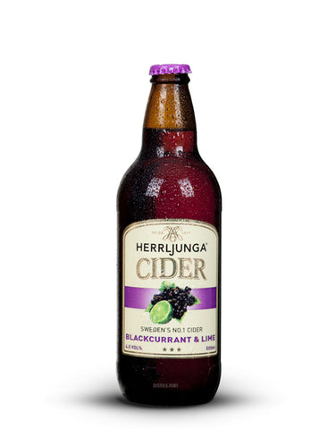 Herrljunga Blackcurrant & Lime Cider