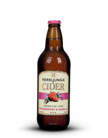 Herrljunga Strawberry & Vanilla Cider