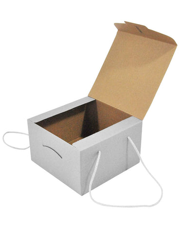 Luxury Square Gift Carton with Cord Handles