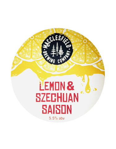 Macclesfield Brewery Lemon & Szechuan