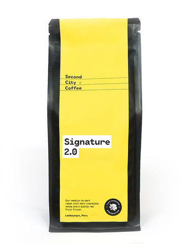 Second City Coffee - Seasonal Signature 2.0