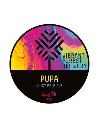 Vibrant Forest - Pupa