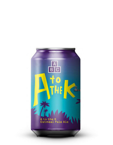 Alphabet A to the K Oatmeal Pale Ale