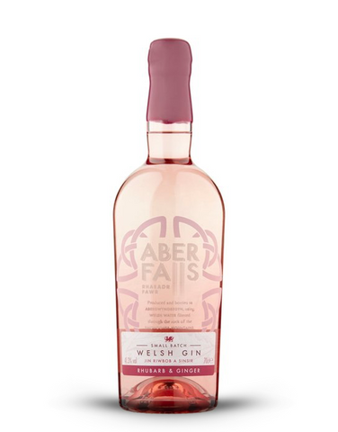 Aber Falls Rhubarb and Ginger Gin