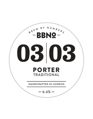 Brew By Numbers 03|03 Porter