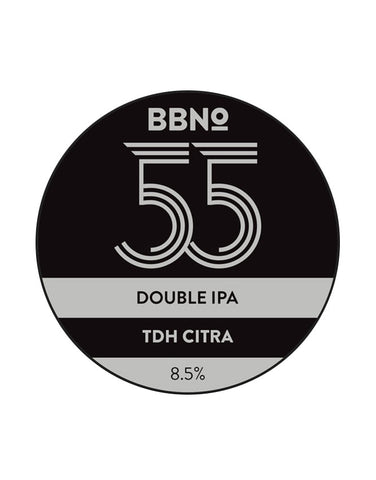 Brew By Numbers - 55 Double IPA TDH Citra