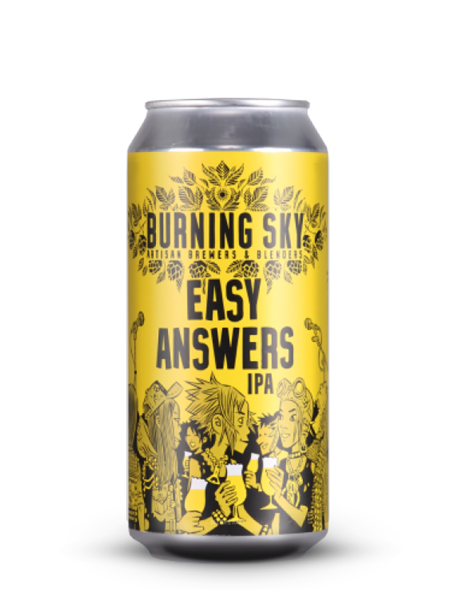 Burning Sky - Easy Answers - ALE SALE BBE: 05 and 07/20