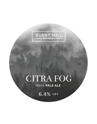 Burnt Mill Brewery Citra Fog IPA