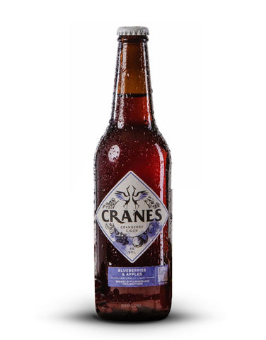 Cranes Blueberry & Apple Cider