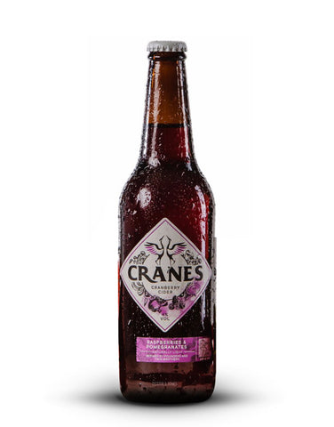 Cranes Raspberry & Pomegranate Cider