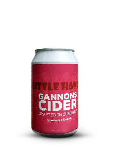 Gannons Strawberry & Rhubarb Cider