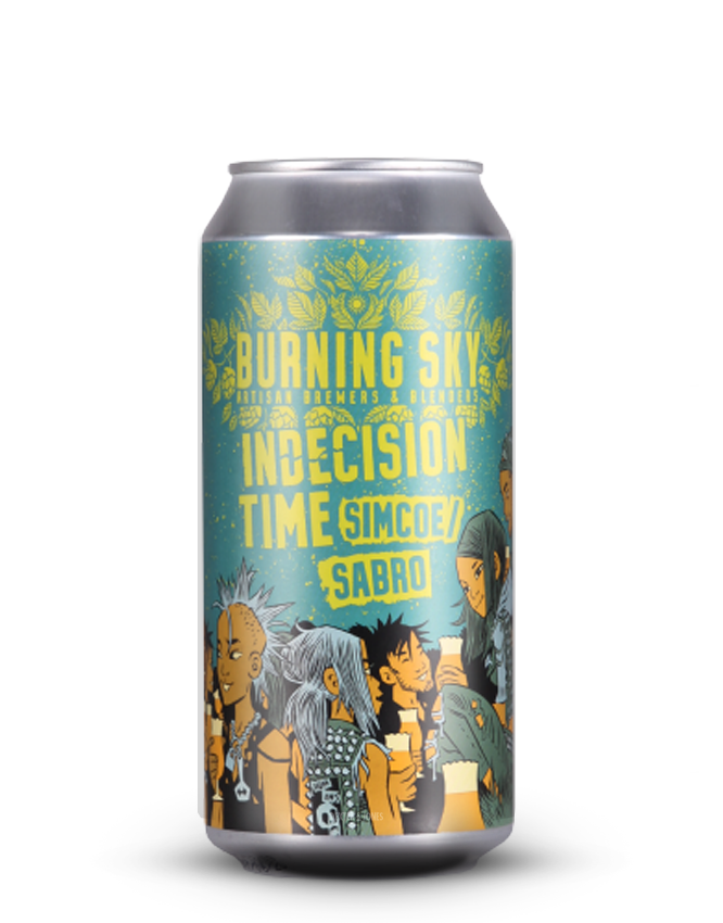 Burning Sky - Indecision Time -ALE SALE BBE: JUN20
