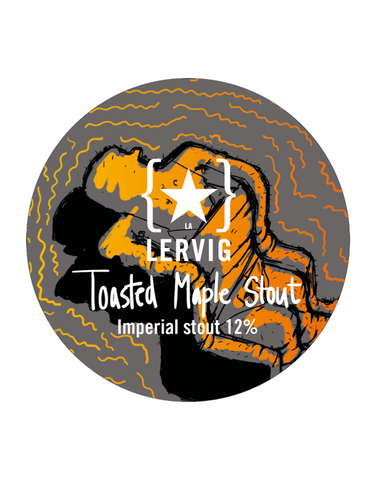 Draft: Lervig - Toasted Maple Stout (12.0%)