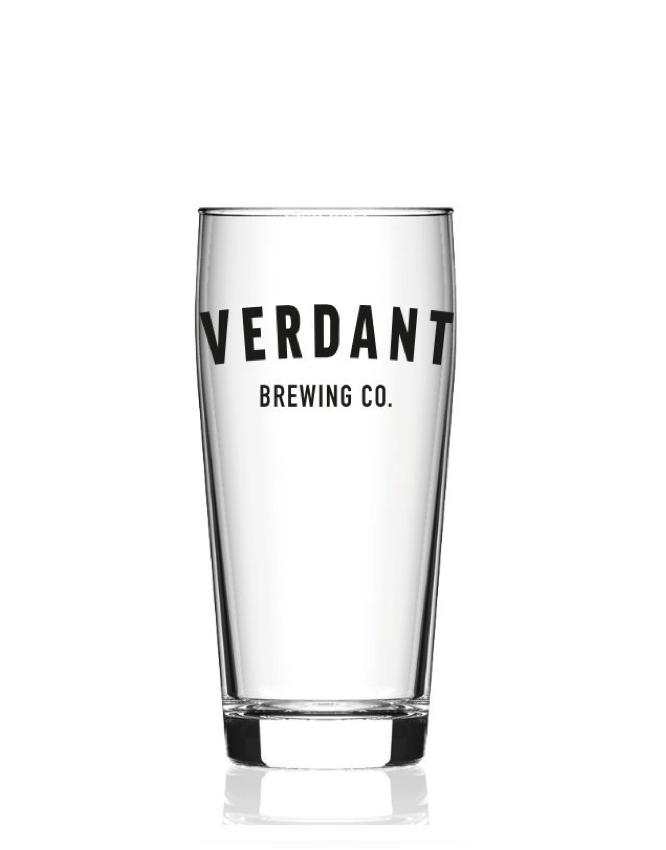 Verdant Brewing Beer Glass