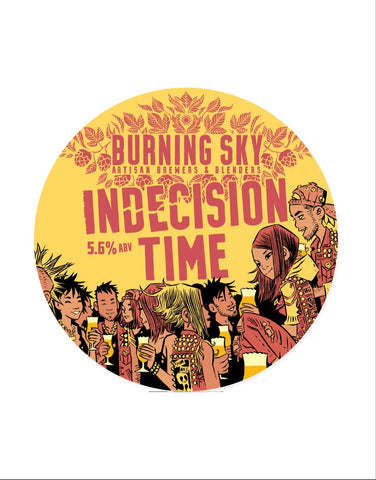 Draft: Burning Sky - Indecision Time Simcoe & Mosaic (5.6%)