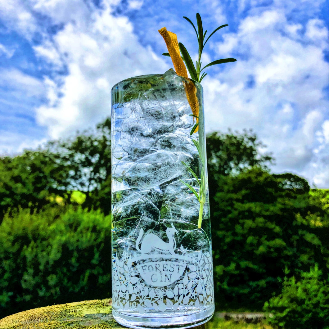Forest Gin Highball Glass
