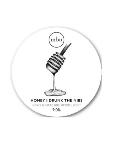 Draft: Mobberley Brewhouse - Honey I Drunk The Nibs (9.0%)
