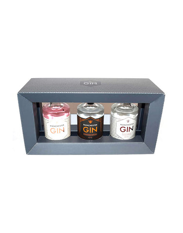 Manchester Gin Gift Pack 3 x 20cl