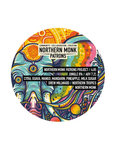 Northern Monk - Patrons Project 4.05 // Jungle IPA