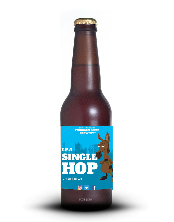 Stubborn Mule - Single Hop IPA: Amarillo