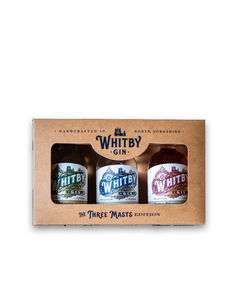 Whitby Gin - Three Masts Gift Set