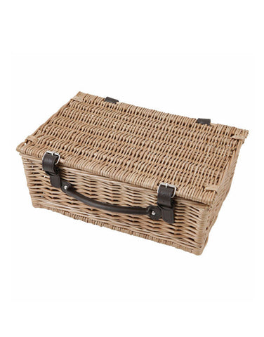 "14"" Wicker Hamper Basket"