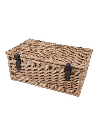 "18"" Wicker Hamper Basket"