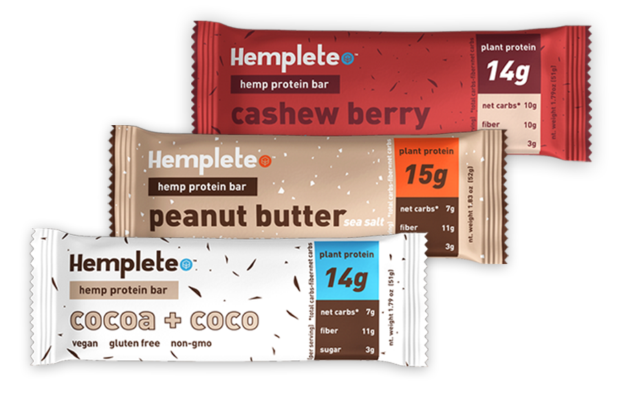Hemp Protein Bar Sample Pack Image