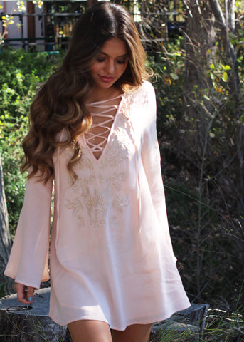 SOFIA JAMORA boho tunic dress
