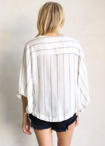 CONRAD STRIPE TOP