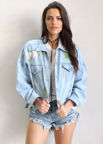 FIONA DENIM JACKET