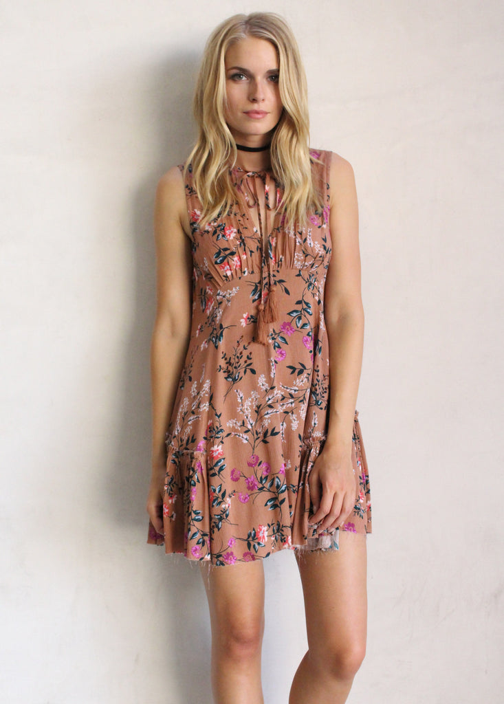 SYDNEY FLORAL TUNIC - JD LUXE