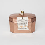 HOMESTEAD CANDLE OCTAGON TEA TIN - AMBROSIA - JD LUXE