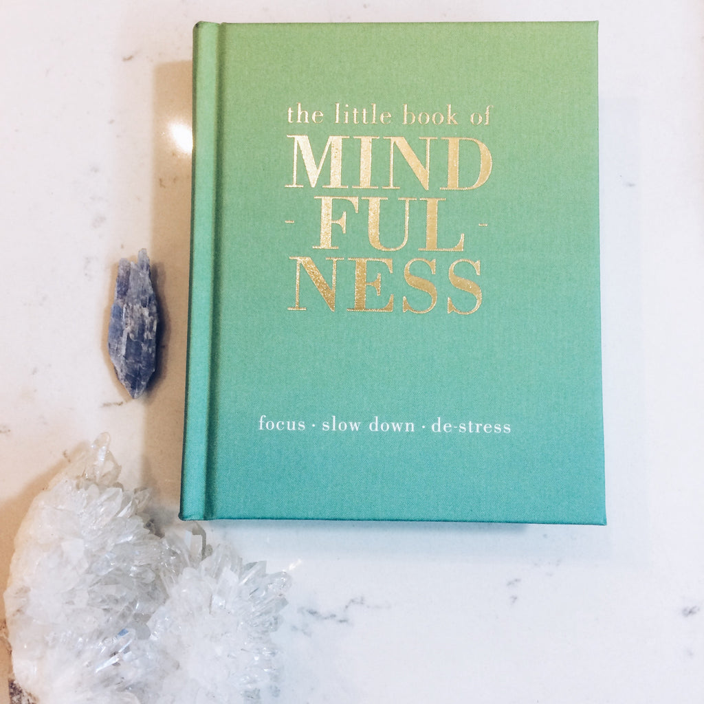THE LITTLE BOOK OF: MINDFULNESS by Tiddy Rowan - JD LUXE