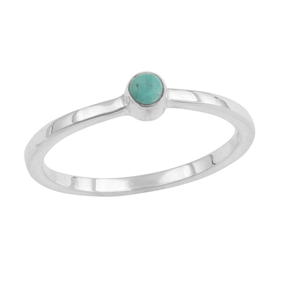 TURQUOISE OVAL RING - JD LUXE