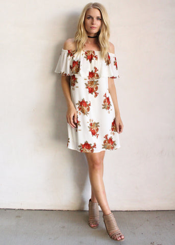 GINA FLORAL TUNIC