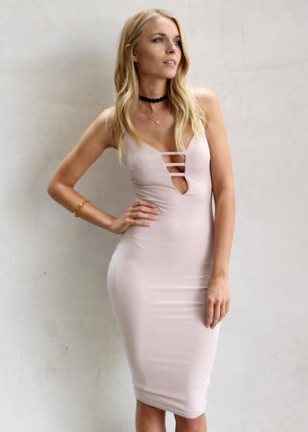 PRISTINE BODYCON DRESS
