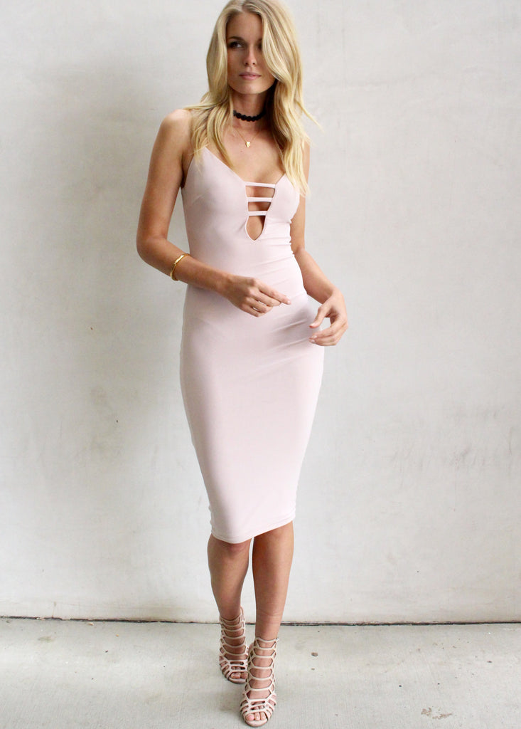 PRISTINE BODYCON DRESS - JD LUXE