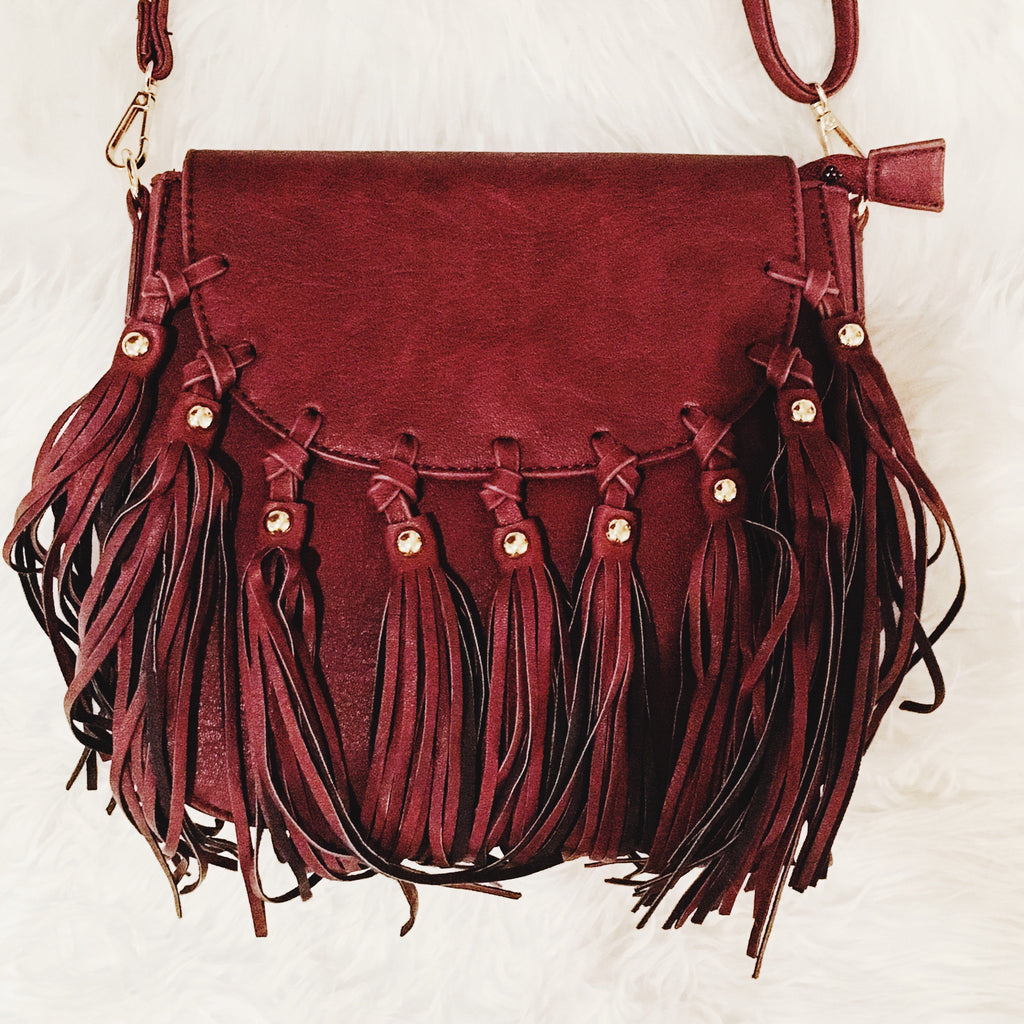 DANICA FRINGE BAG - JD LUXE