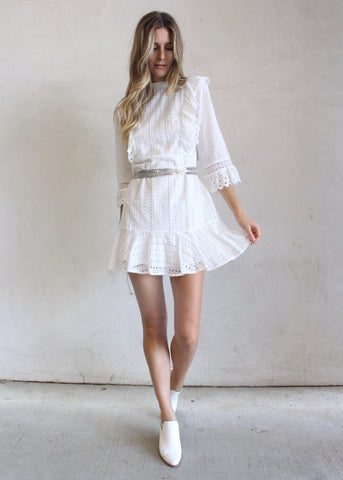 ELAYNE RUFFLE DRESS