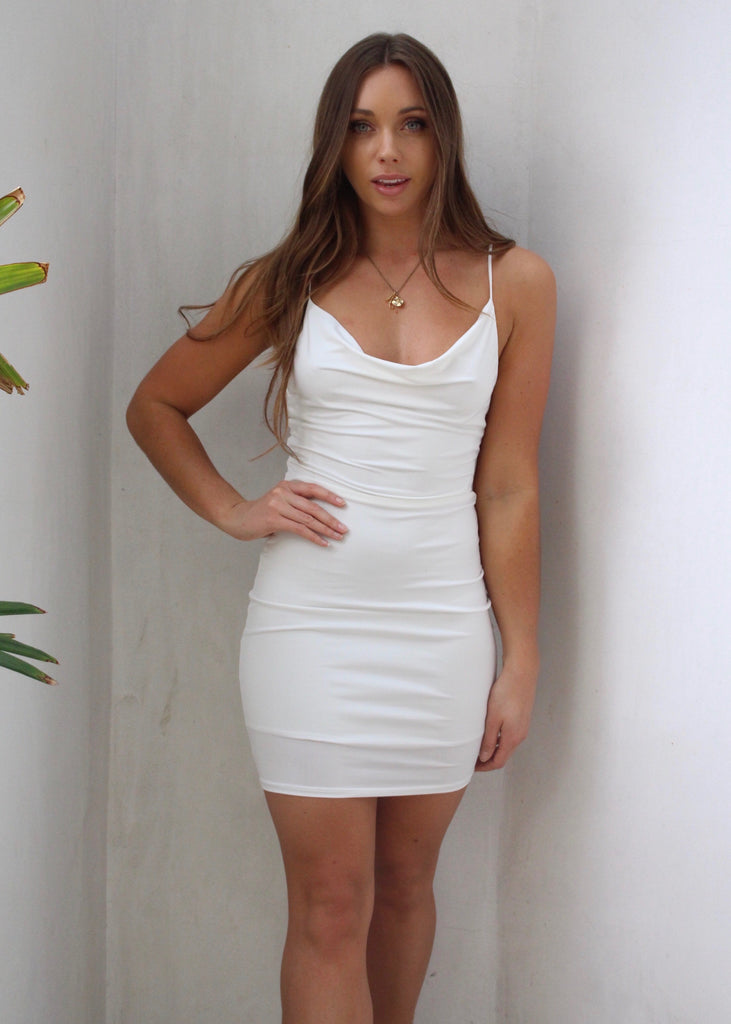 PEARL SLINKY DRESS