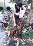 MRS. CHEETAH MIDI DRESS