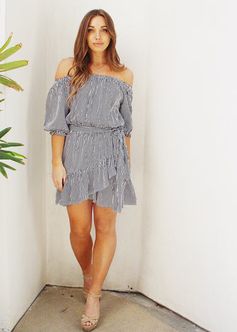 LEA OFF THE SHOULDER DRESS