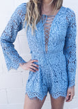 LAUREL AND LACE ROMPER - JD LUXE