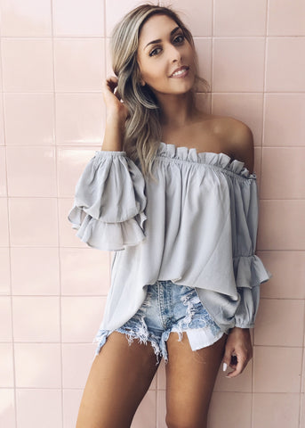COLDWATER OFF THE SHOULDER TOP