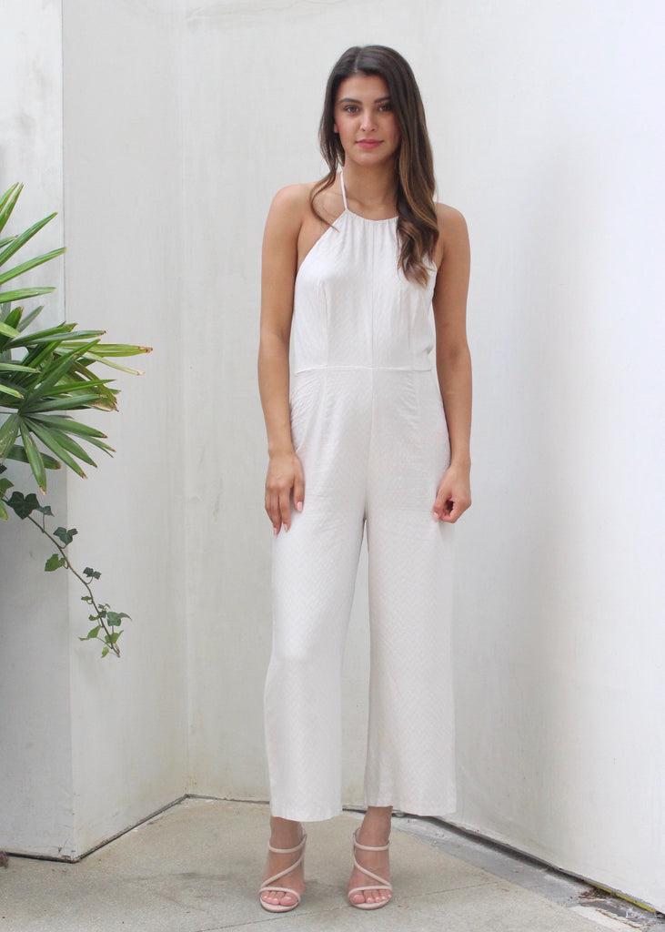 CROSSING PATHS JUMPSUIT