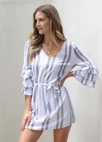 SAVANNAH STRIPE DRESS